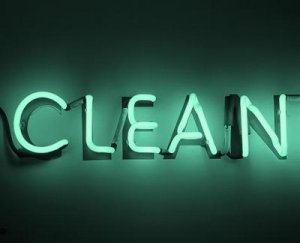 Clean Neon Sign