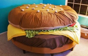 hamburger-bed